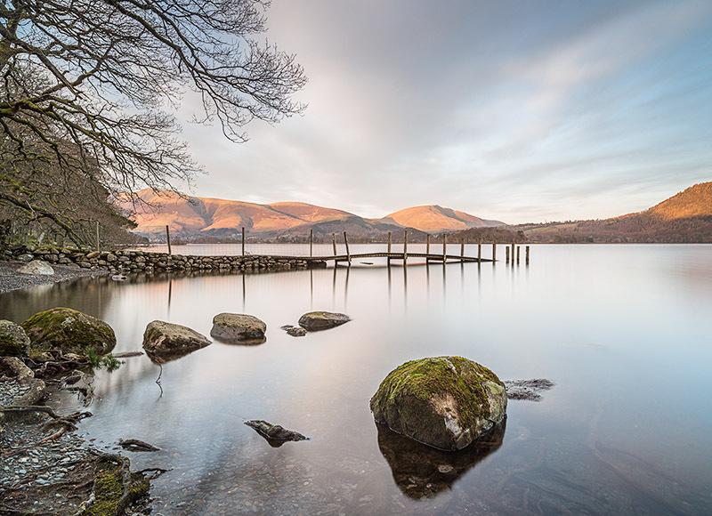 1509 Derwent Water - The Mainland landscapes