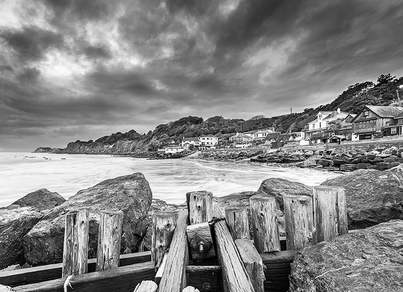 1278 Steephill Cove bw - Ventnor to St. Lawrence landscapes