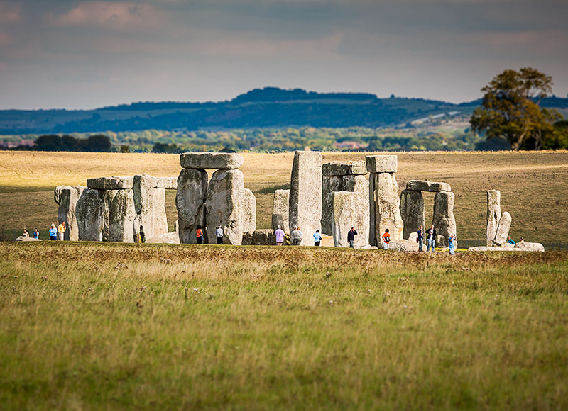 1879 Stonehenge - The Mainland landscapes