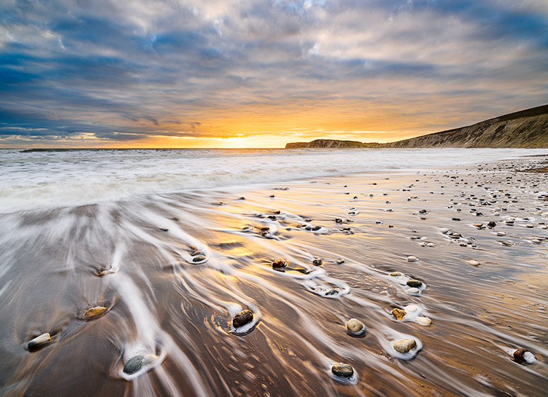 1613 Compton Bay - Compton and West Wight landscapes