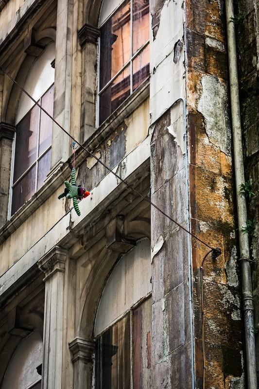 Hanging around - street