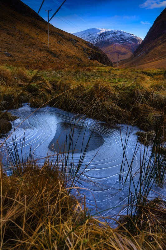 In the groove - Scottish landscapes