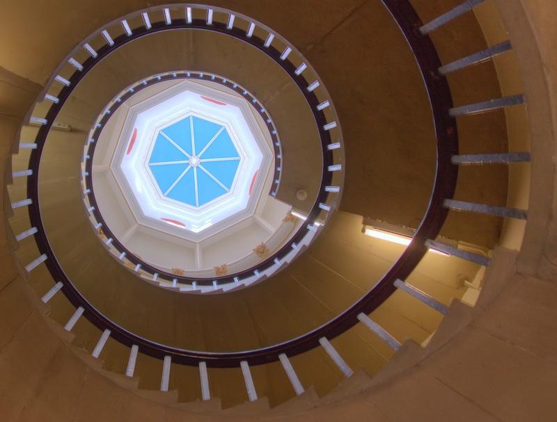 Looking Up, St John's College, Cambridge - Beds, Bucks, Cambridge, & Cornwall