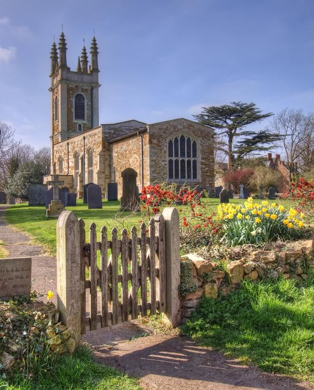 St Peter's, Gaulby, Leicestershire - Derbyshire, Dorset, Kent, & Leics