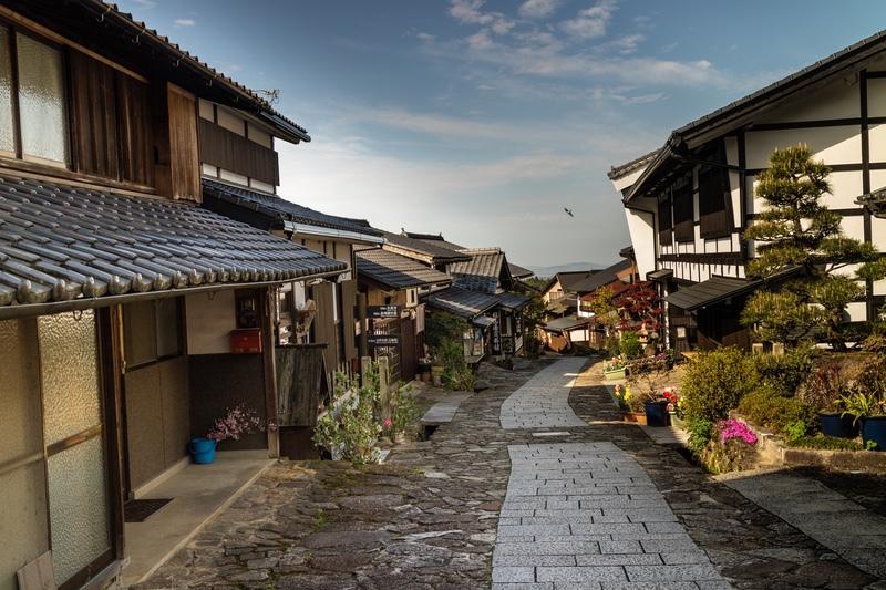 Morning in Magome, Japan - Japan