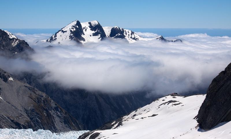 Above the Franz Josef Glacier, South Island, New Zealand - New Zealand