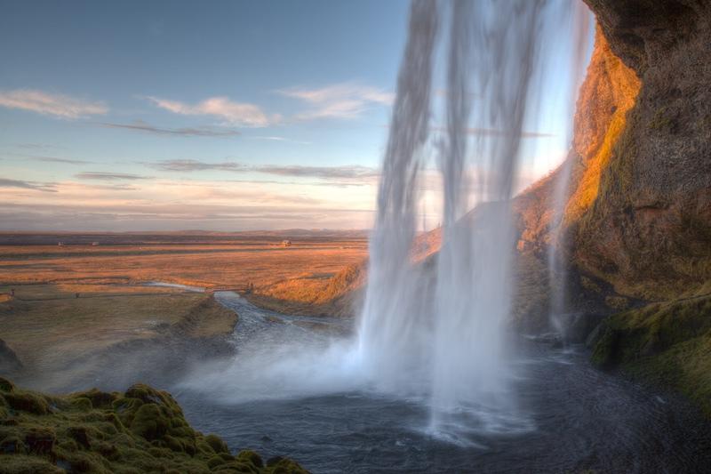 Seljalandsfoss, Iceland - Iceland