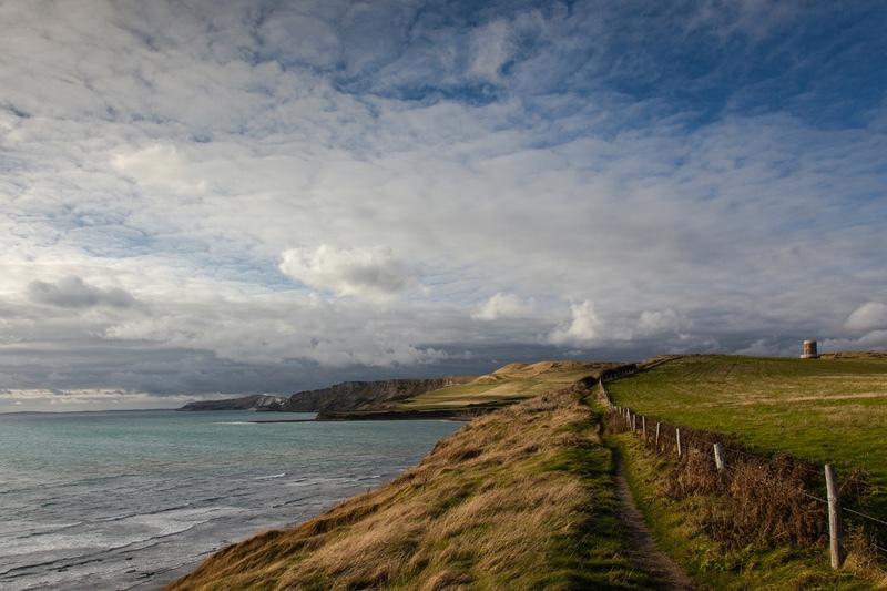 On the Jurassic Coast, Dorset - Derbyshire, Dorset, Kent, & Leics