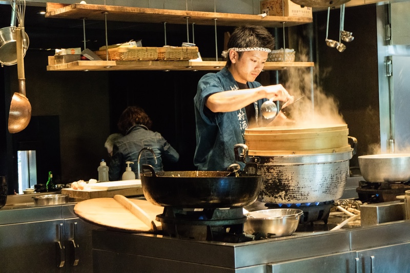 Cook, Japan - Japan