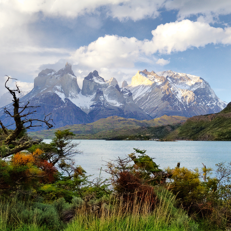 Lago Pehoe and the Paine Massif, Chile - Patagonia