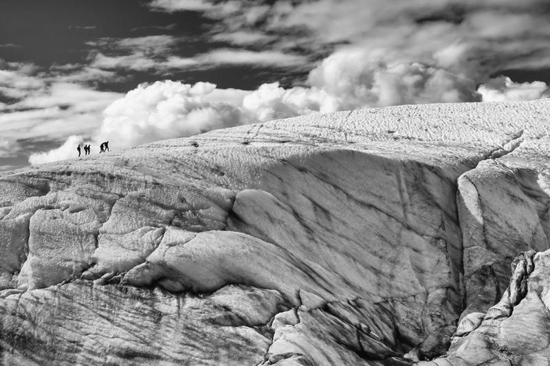 Above the Abyss, Root Glacier, Alaska - Alaska