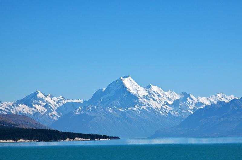 Blue View, South Island, New Zealand - New Zealand