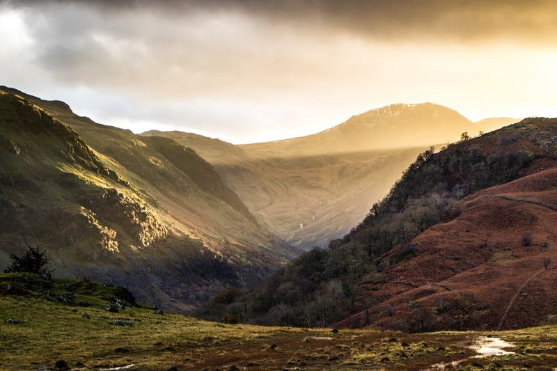 Late Sunshine - The Lake District