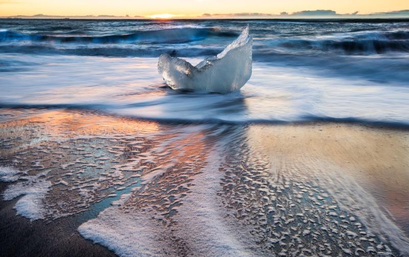 The Ice Beach, Iceland - Iceland