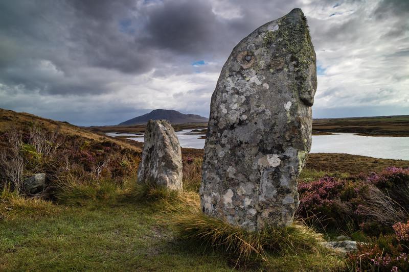 Pobhull Finn, North Uist - Scotland