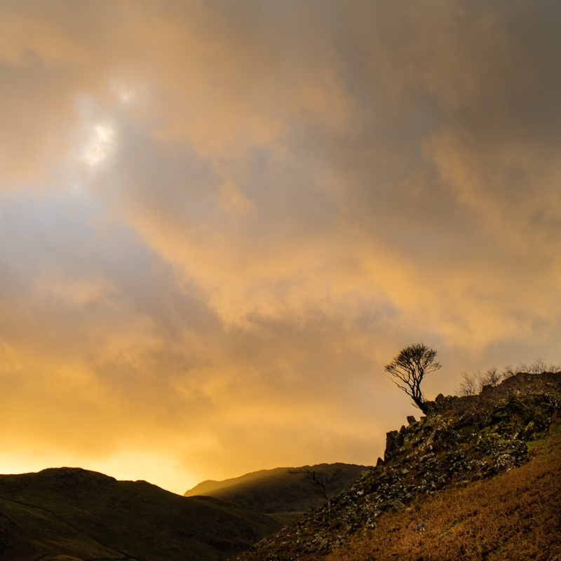 Seatoller Sunset - The Lake District