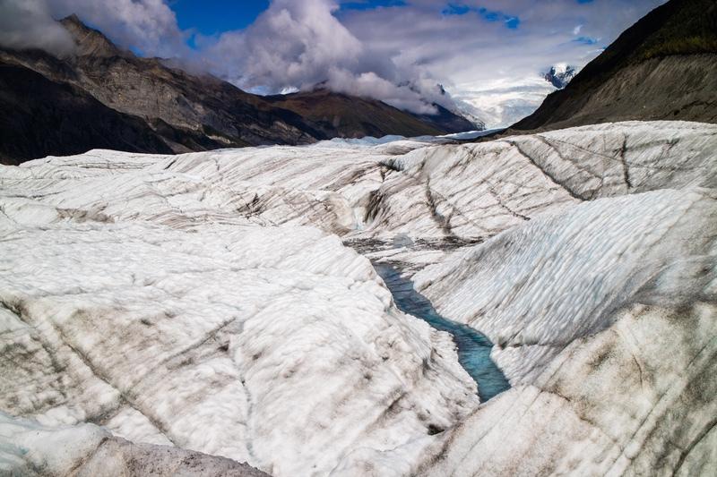 On the Root Glacier, Alaska - Alaska