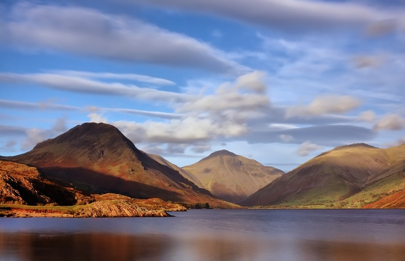 Evening Glow at Wastwater - The Lake District