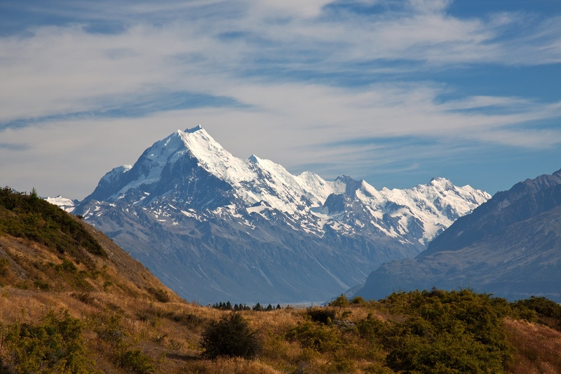 Mount Cook, South Island, New Zealand - New Zealand