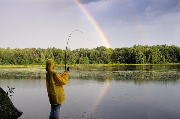 Hooked on a Rainbow - PEOPLE-PIX