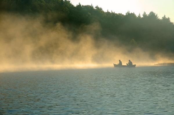 Ghost Canoe - NATURE'S WINDOW