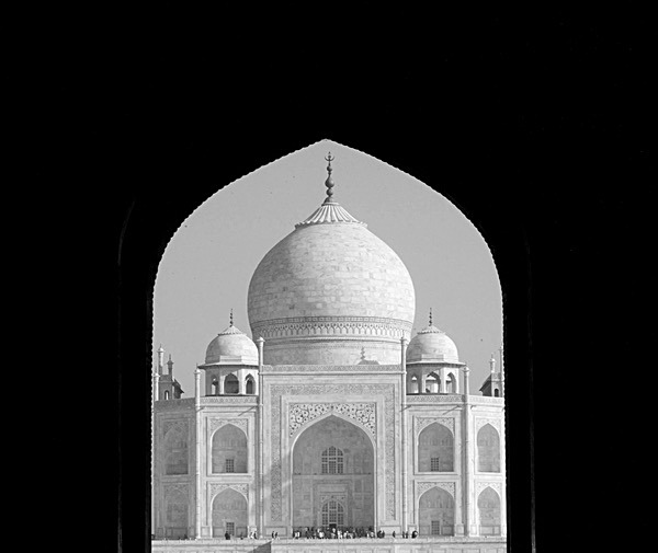 TheTaj Mahal - Greetings Cards