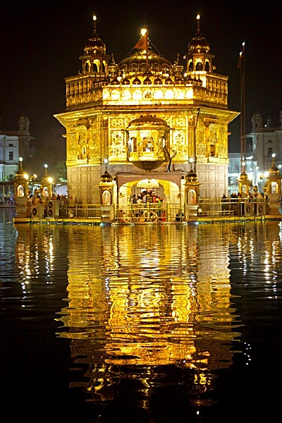 Golden Temple - Greetings Cards