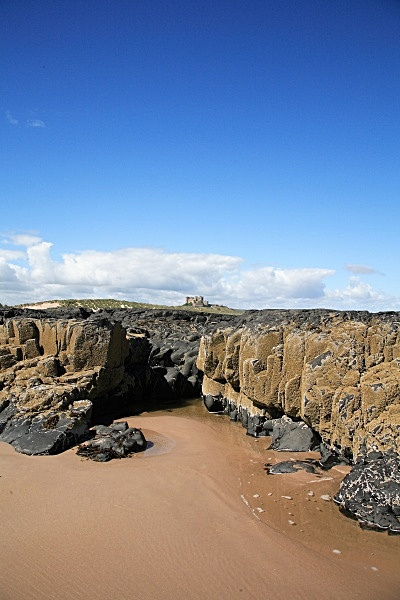 Bamburgh Castle - Seascapes