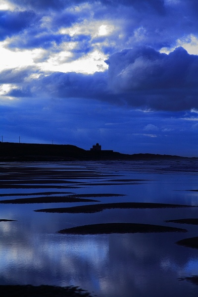 Blue Bamburgh - Seascapes
