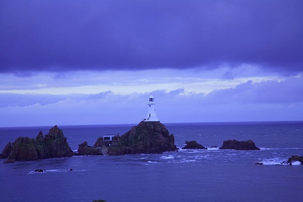 The Lighthouse (Corbiere)1 - Seascapes