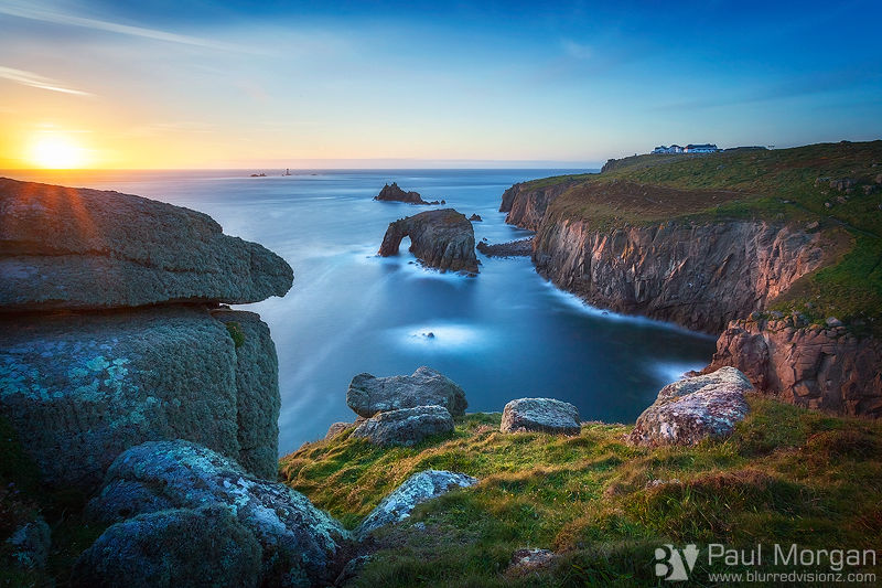 Land's End Last Light - Landscape (Horizontal)