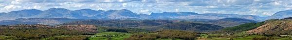 South Cumbrian Panorama - Cumbria