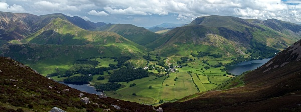 Lakeland Panorama - Cumbria