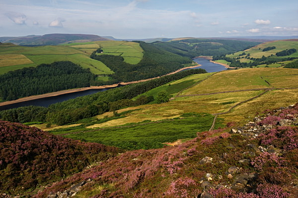 Upper Derwent Valley photographed by Roger Butterfield