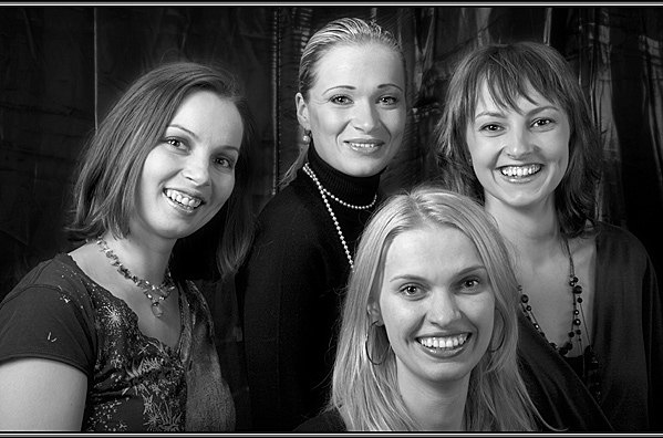 4 of them - Just Kidding! - Portraits