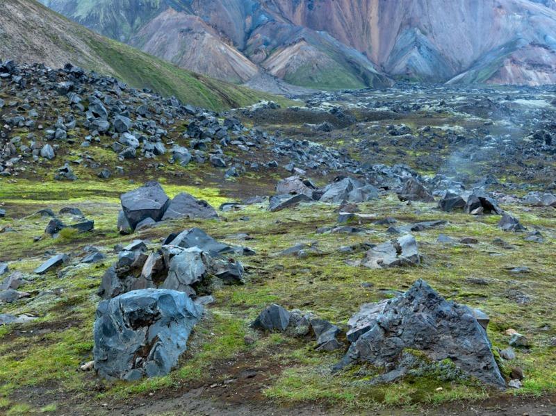 Lava river - Iceland landscapes