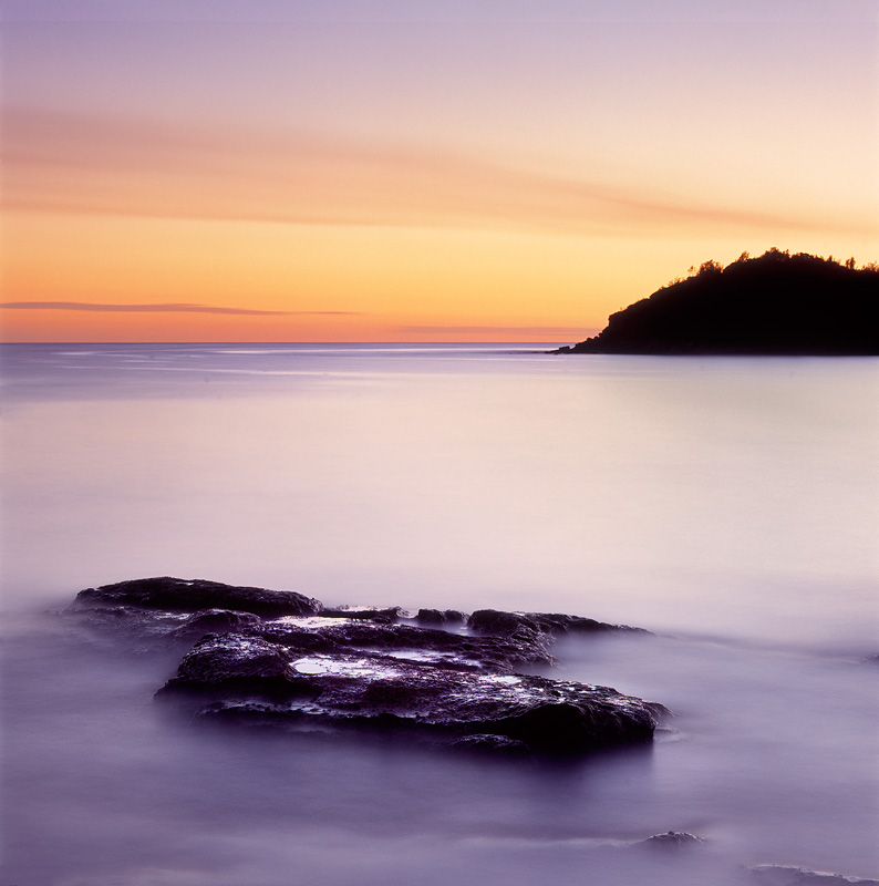Manly Dawn - Seascapes