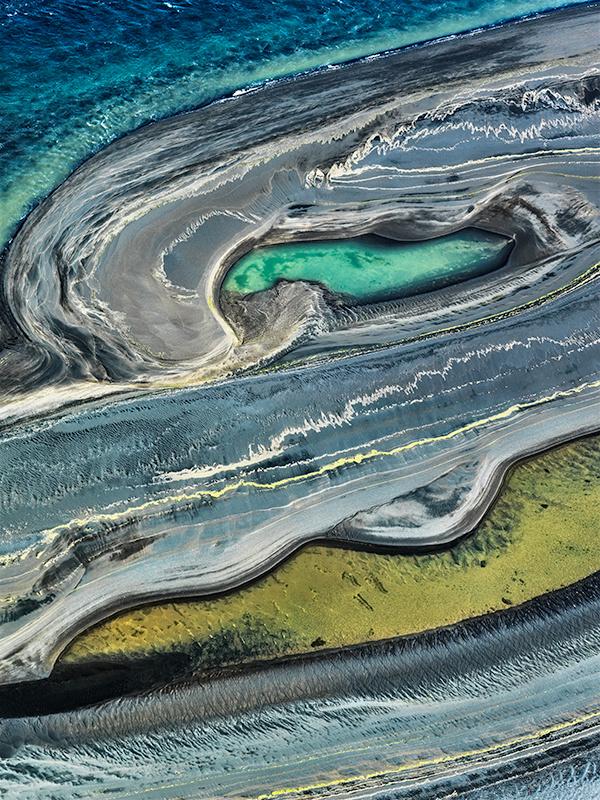 Sand Flows - Iceland River Deltas