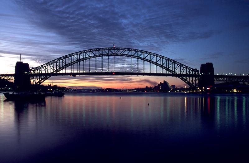 Sunrise from Blues Point - Sydney Icons