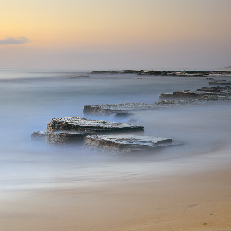 Disappearing Beach - Seascapes