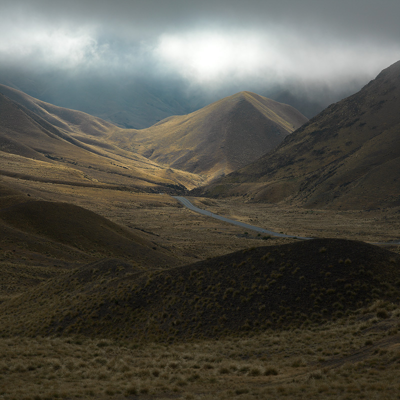 Lindis Pass - New Zealand