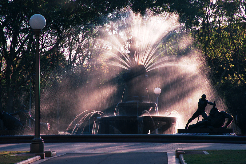 Archibald Fountain - Sydney Icons