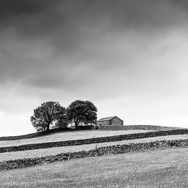 Yorkshire - The UK landscape - monochrome