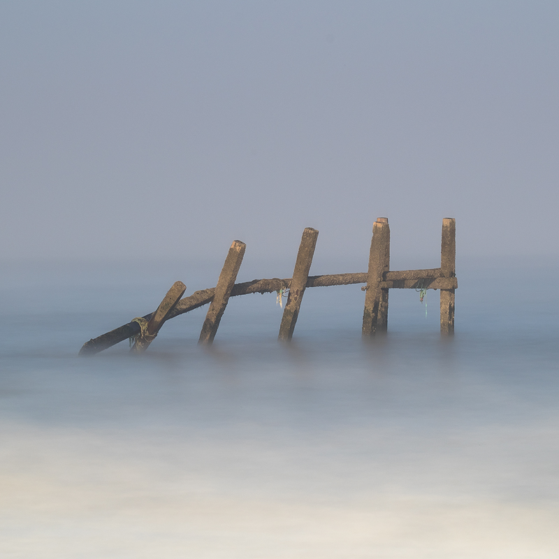 Norfolk Coast landscape photography of Happisburgh Beach