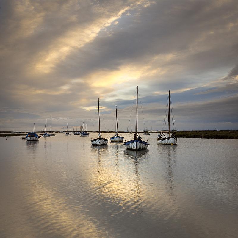 Norfolk Coast landscape photography of Morston Quay