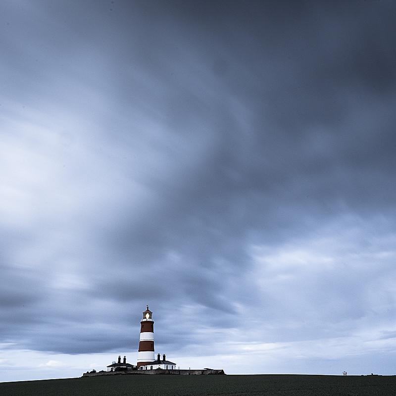 Norfolk Coast landscape photography of Happisburgh lighthouse