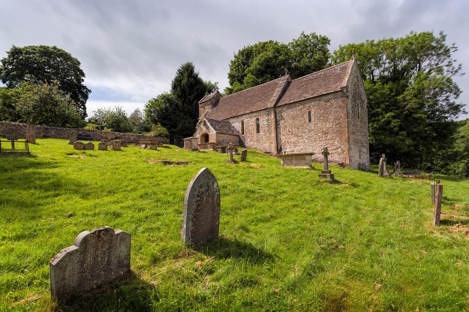 Duntisbourne Rouse Saxon church of St. Michael's