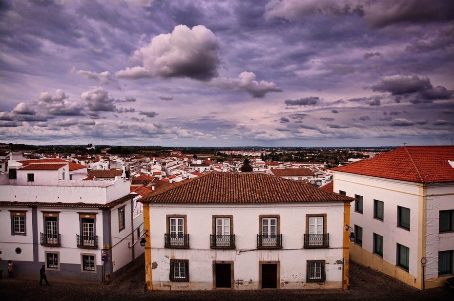 Beautiful image of the Portuguese town of Evora