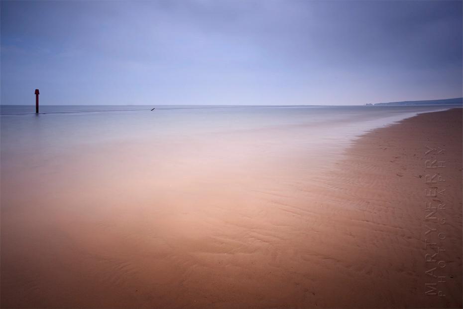 Beautiful landscape colours on Studland Beach