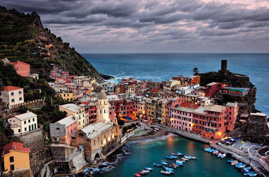 Vernazza Evening - Italy